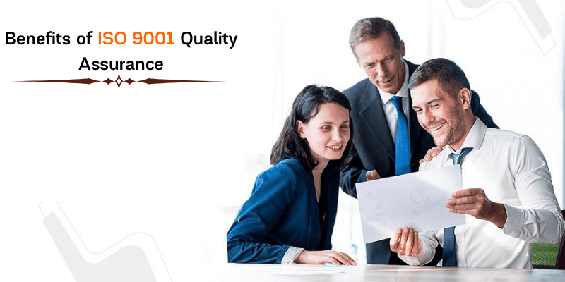 Benefits of ISO 9001 quality assurance