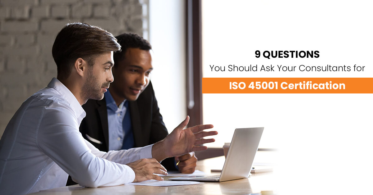 ISO 45001 certification