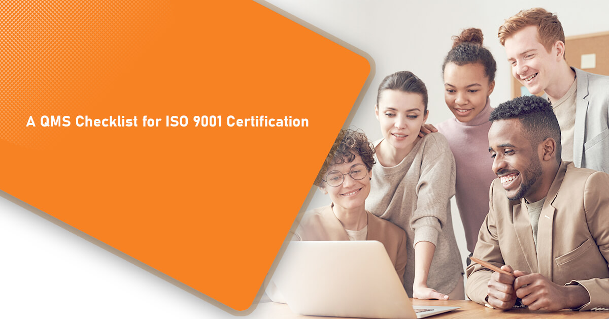 A QMS Checklist for ISO 9001 Certification
